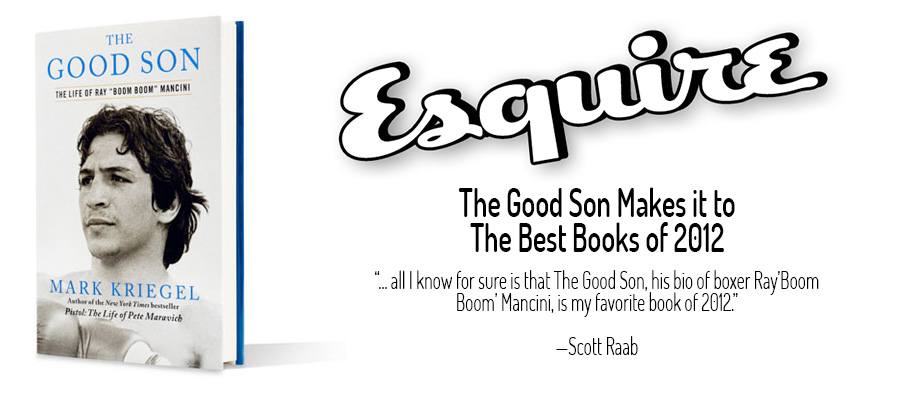 Esquire Best Books of 2012
