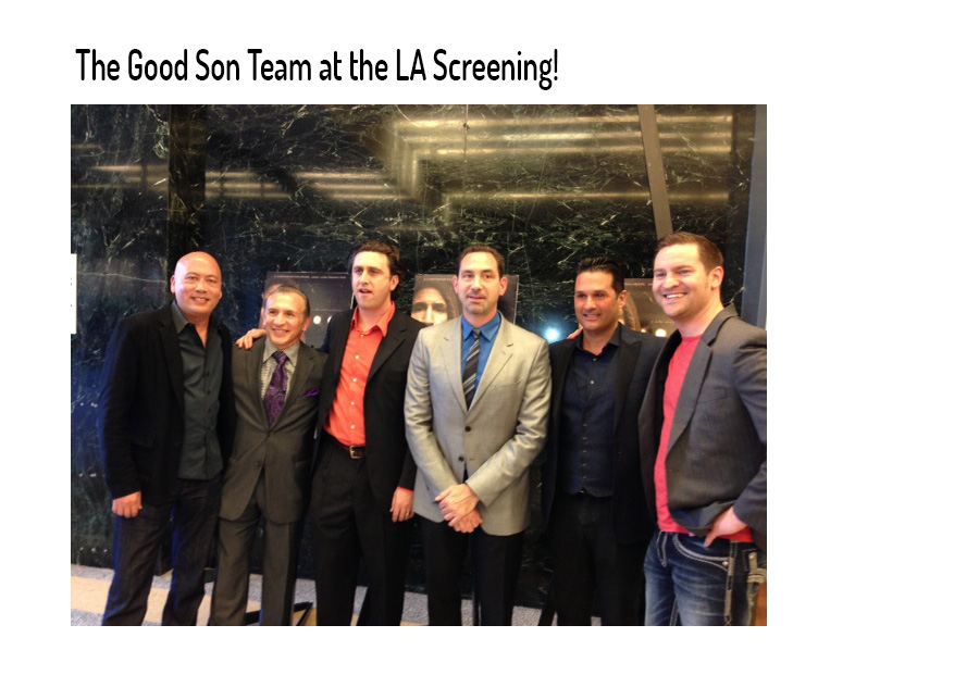 The Good Son Team in LA movie premiere