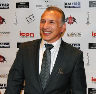 Ray Mancini Movie Premiere
